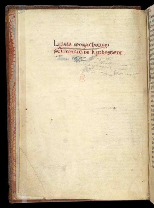 Formal Ownership Inscription, In Hugh of St.-Victor's 'Commentary On Dionysius The Areopagite's Treatise 'On The Heavenly Hierarchy''